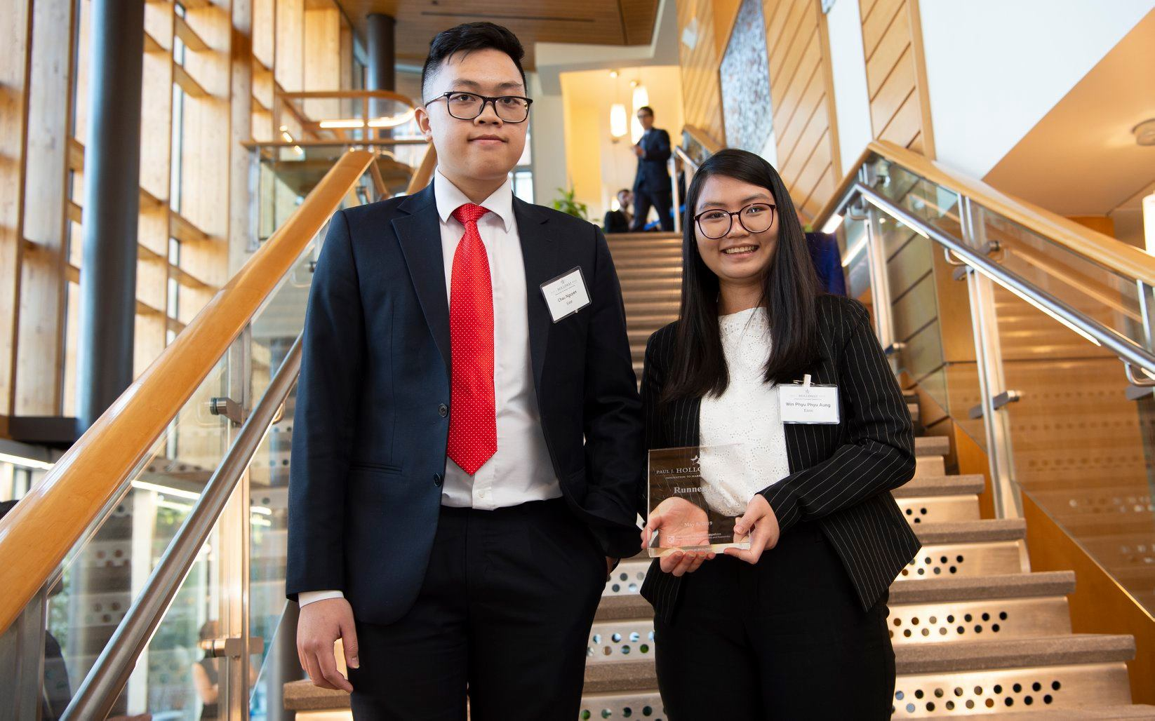 UNH GSSP Students Runners Up in Holloway Competition